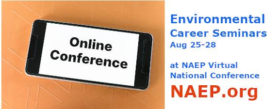 Tune in to Environmental Career Sessions Aug 25-28