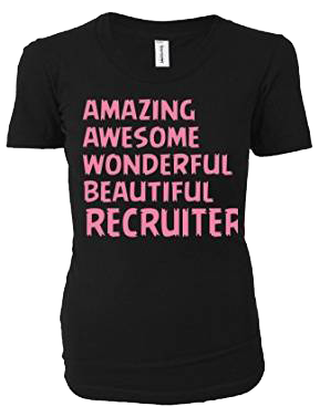 Amazing Awesome Wonderful Beautiful Recruiter